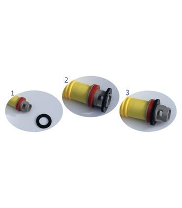 Inel adaptor pentru valve de umflare